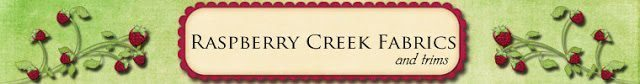 Welcome Sponsor: Raspberry Creek Fabrics + Giveaway!