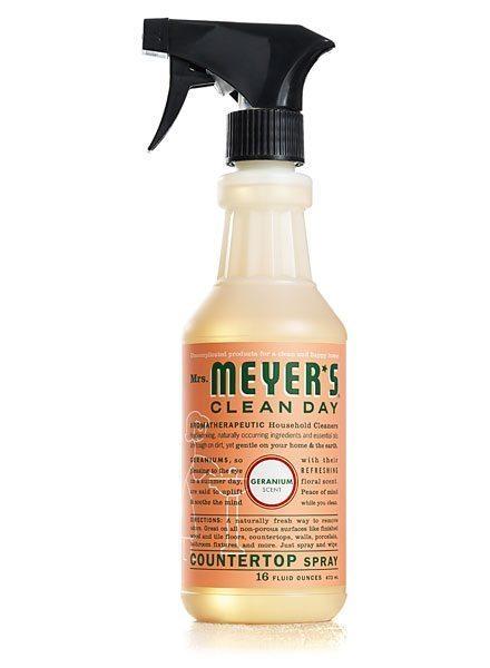 my favorite things:: Mrs. Meyers countertop spray