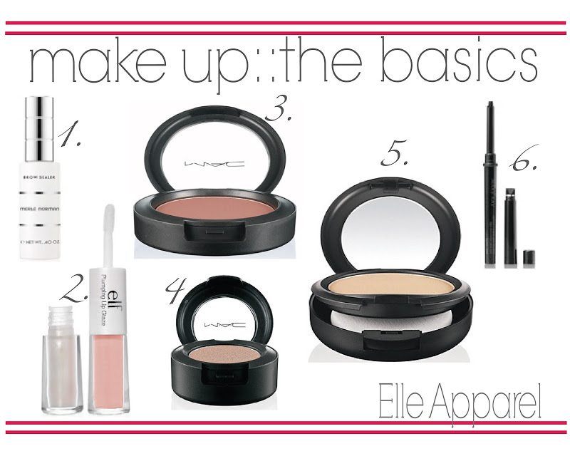 my favorite things:: make-up basics