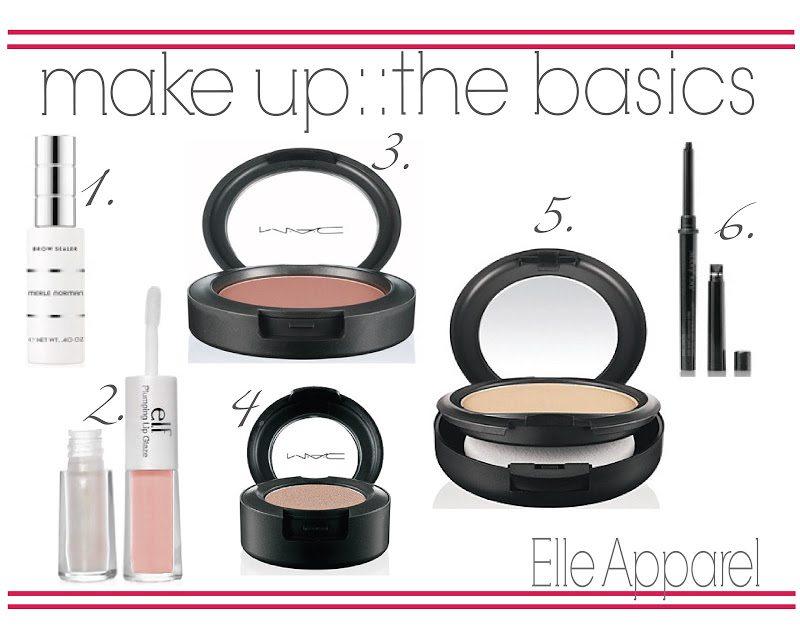 my favorite things:: make-up basics