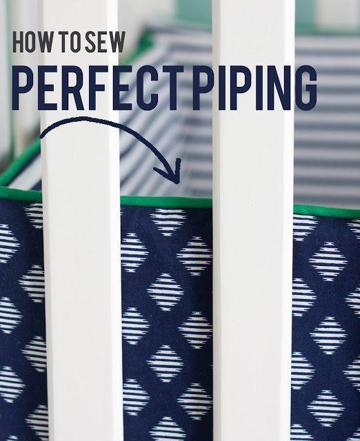 sewing basics series:: piping
