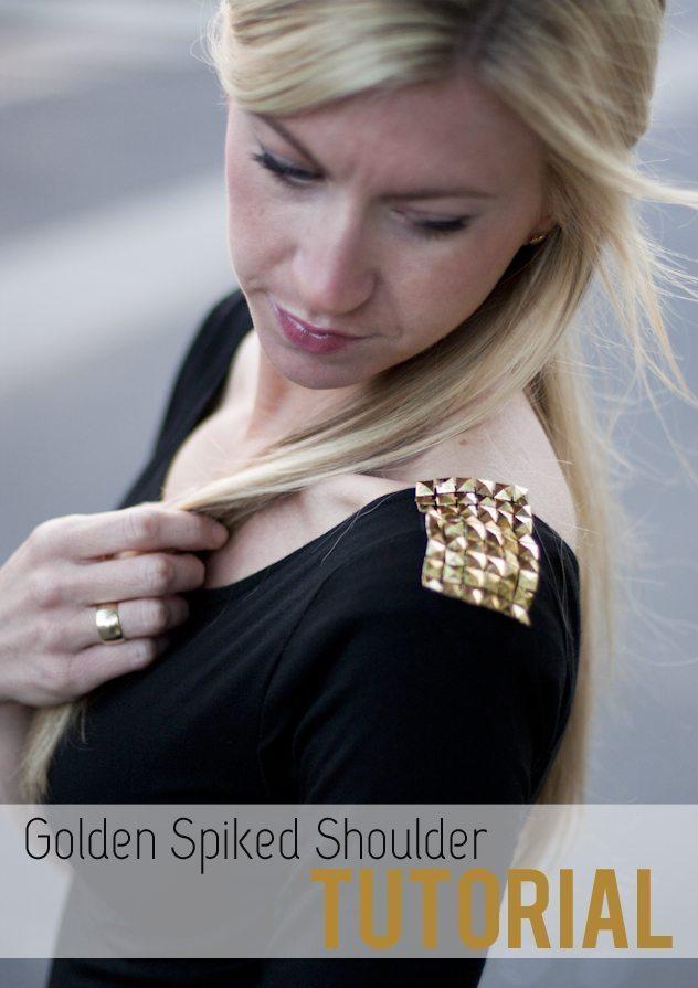 Golden Spiked Shoulder: Tutorial