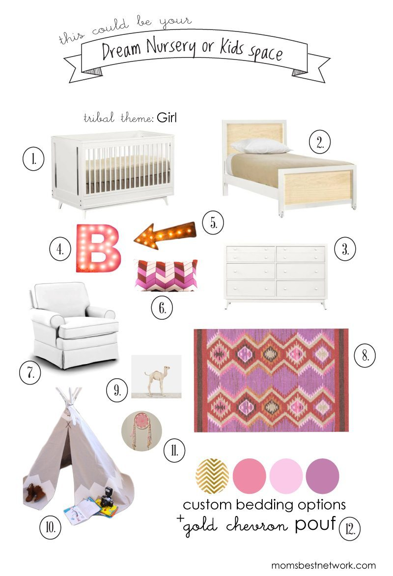DREAM NURSERY GIVEAWAY FROM MOM'S BEST!