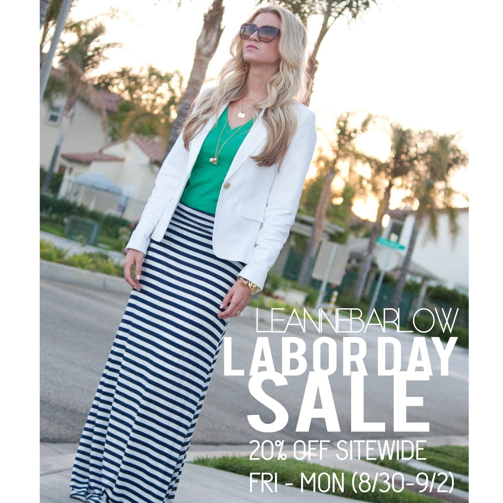 LEANNE BARLOW LABOR DAY SALE!
