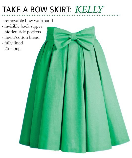 TAKE A BOW SKIRT: KELLY
