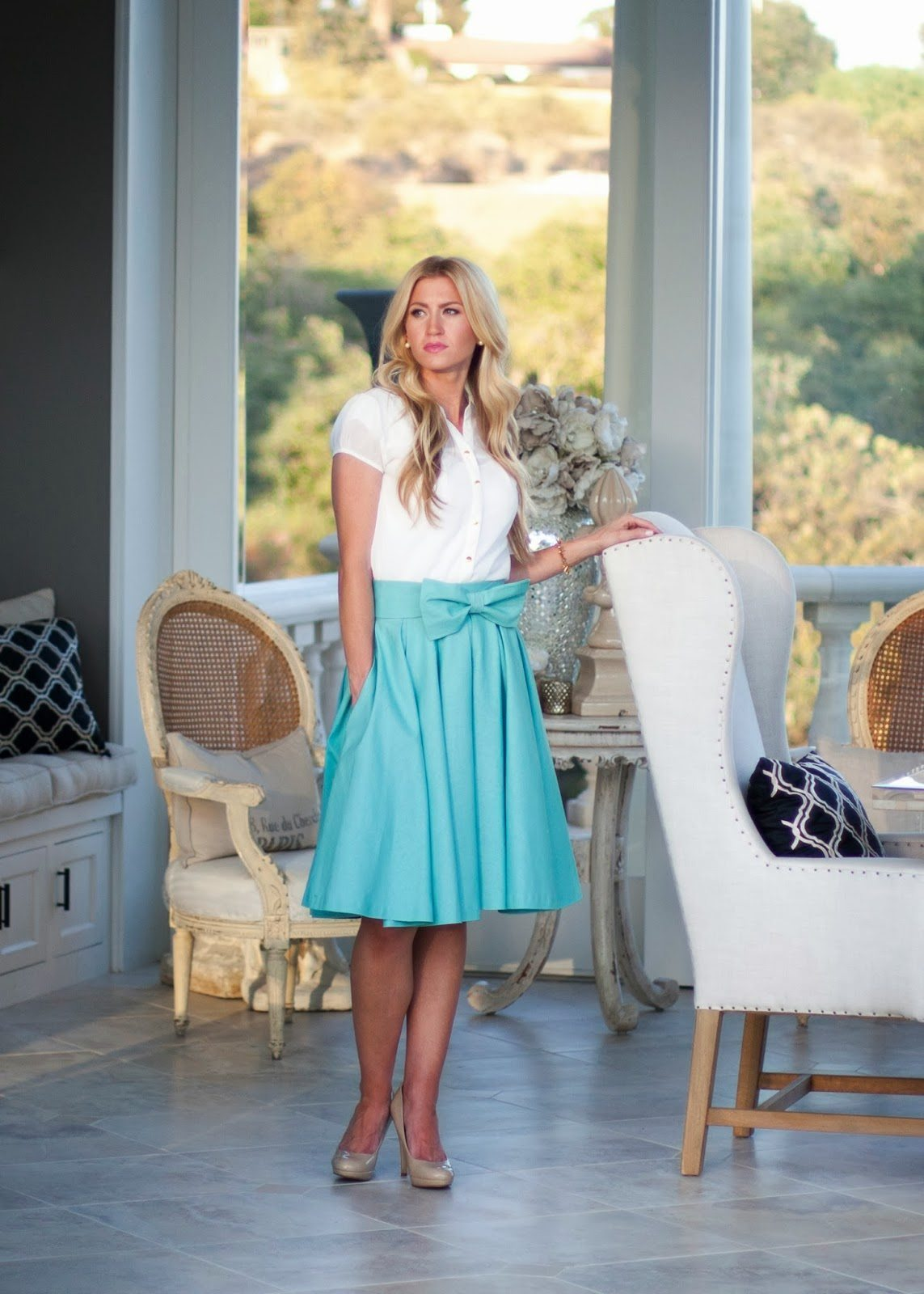 MINT TAKE A BOW SKIRT: NOW AVAILABLE