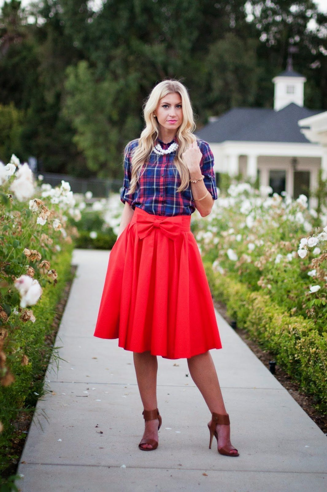 POPPY TAKE A BOW SKIRT: NOW AVAILABLE