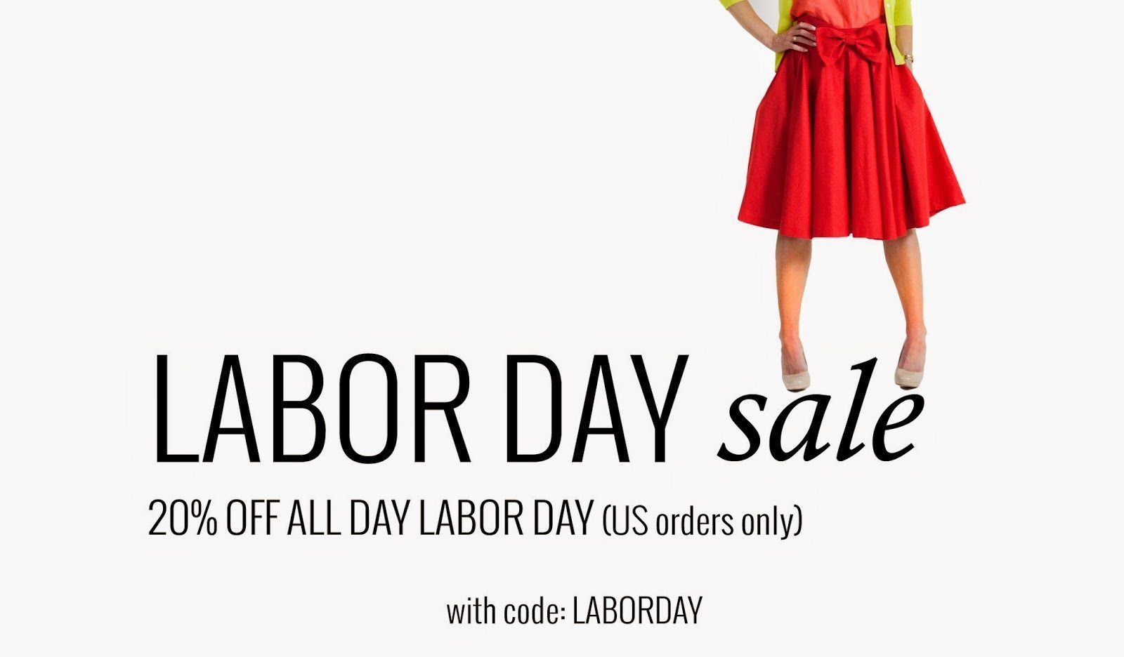 LEANNE BARLOW LABOR DAY 20% OFF SALE