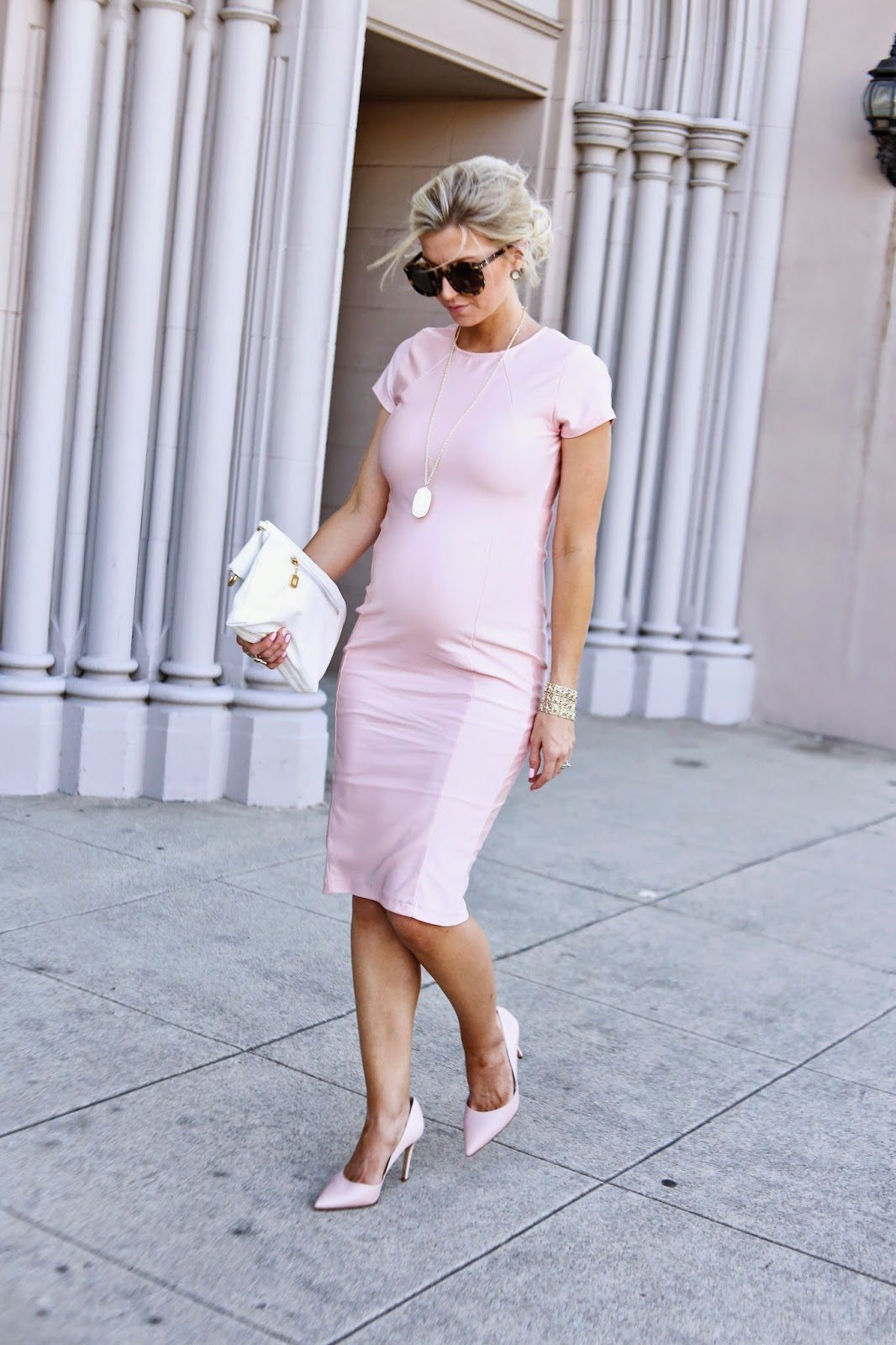 BLUSH FITTED DRESS {TUTORIAL}