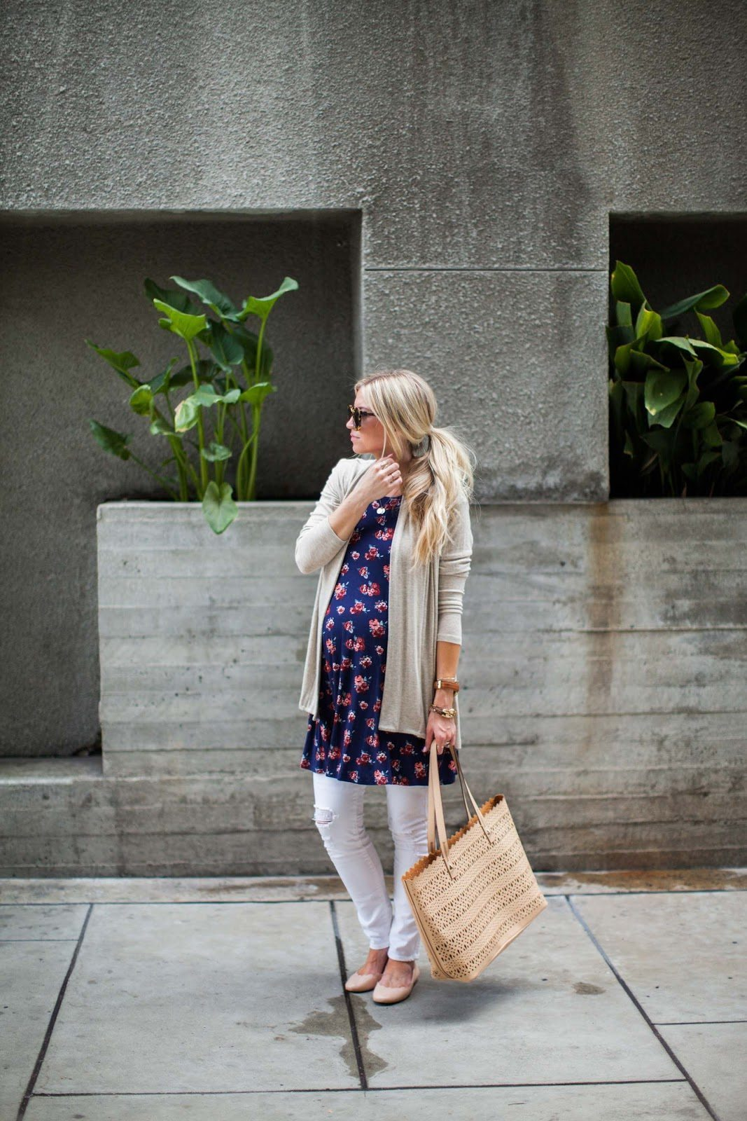 SUMMER COMFORT + MY FAVORITE MATERNITY STYLING TIP!