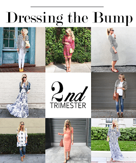 DRESSING THE BUMP SERIES: WHAT TO WEAR DURING YOUR SECOND TRIMESTER