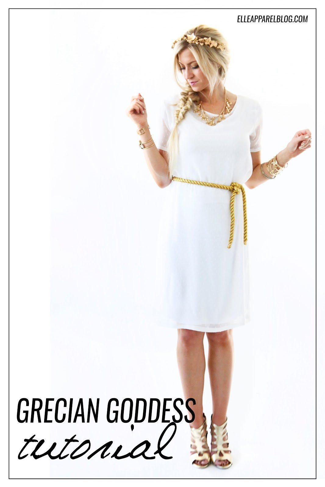 THE MODERN GIRLS HALLOWEEN WEEK: GRECIAN GODDESS COSTUME