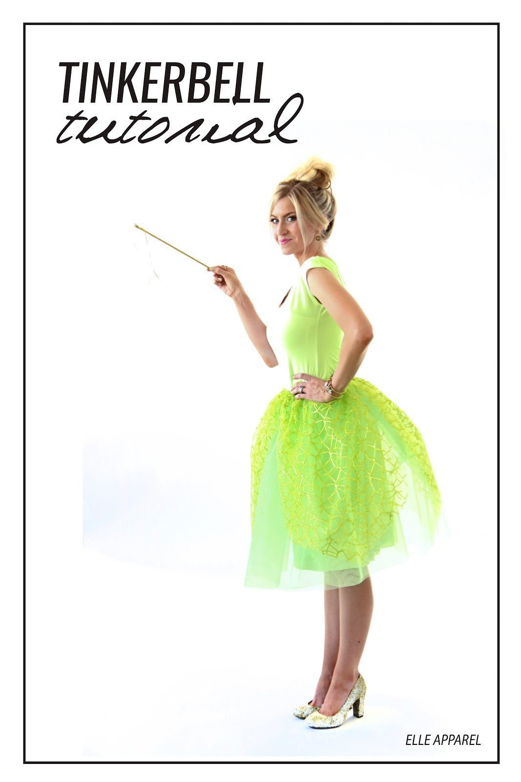 THE MODERN GIRLS HALLOWEEN WEEK: TINKERBELL COSTUME