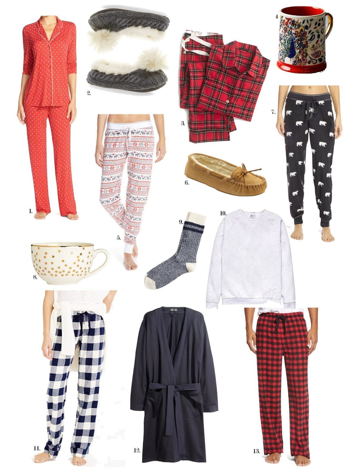 HOLIDAY GIFT GUIDE: FAMILY CHRISTMAS JAMMIES