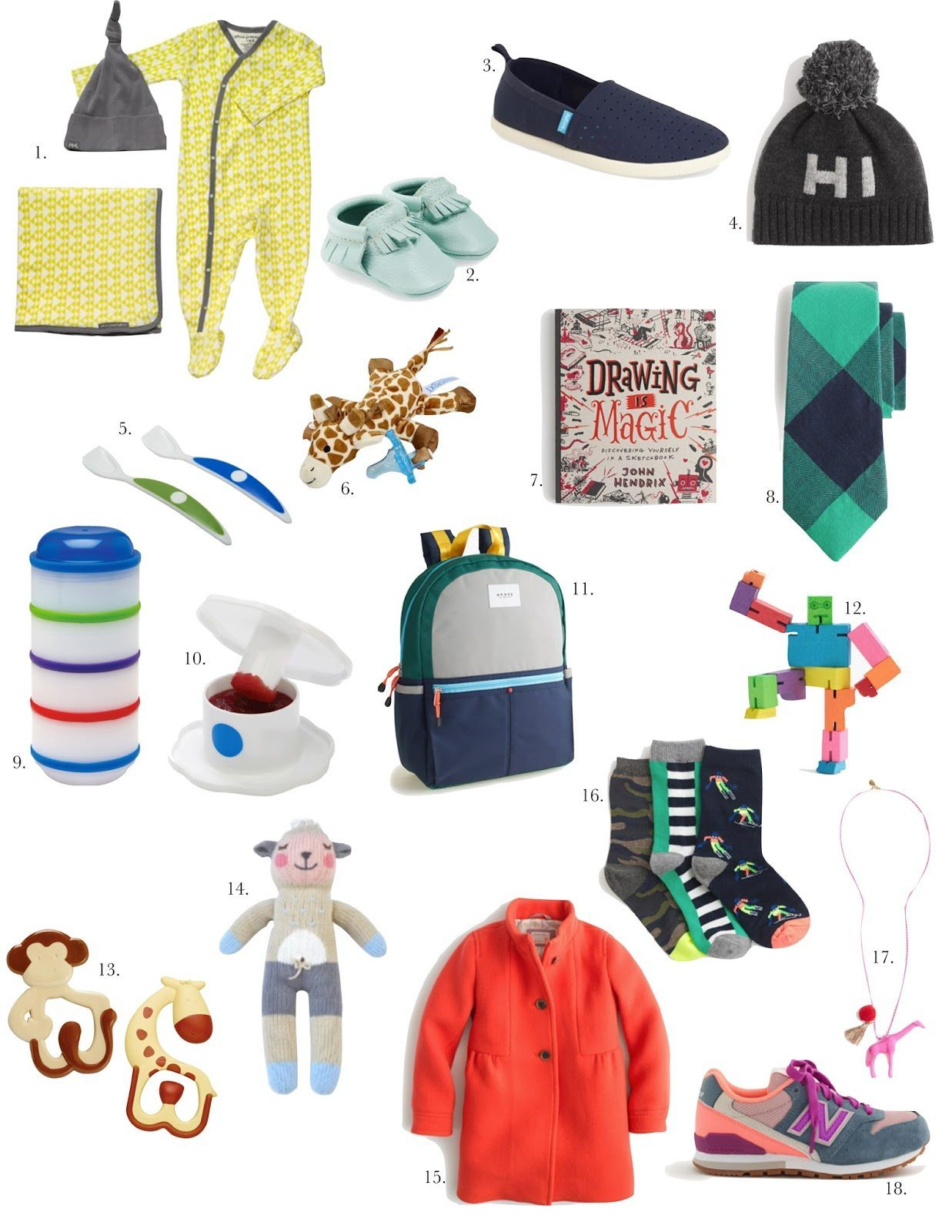 HOLIDAY GIFT GUIDE: FOR KIDS & BABY