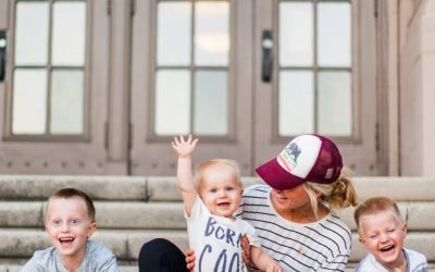 Life with three boys mom style.