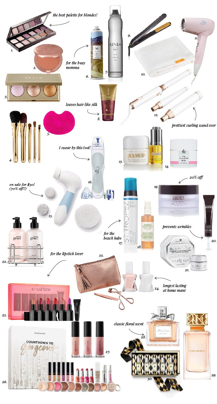 ELLE APPAREL HOLIDAY GIFT GUIDE 2016: BEAUTY