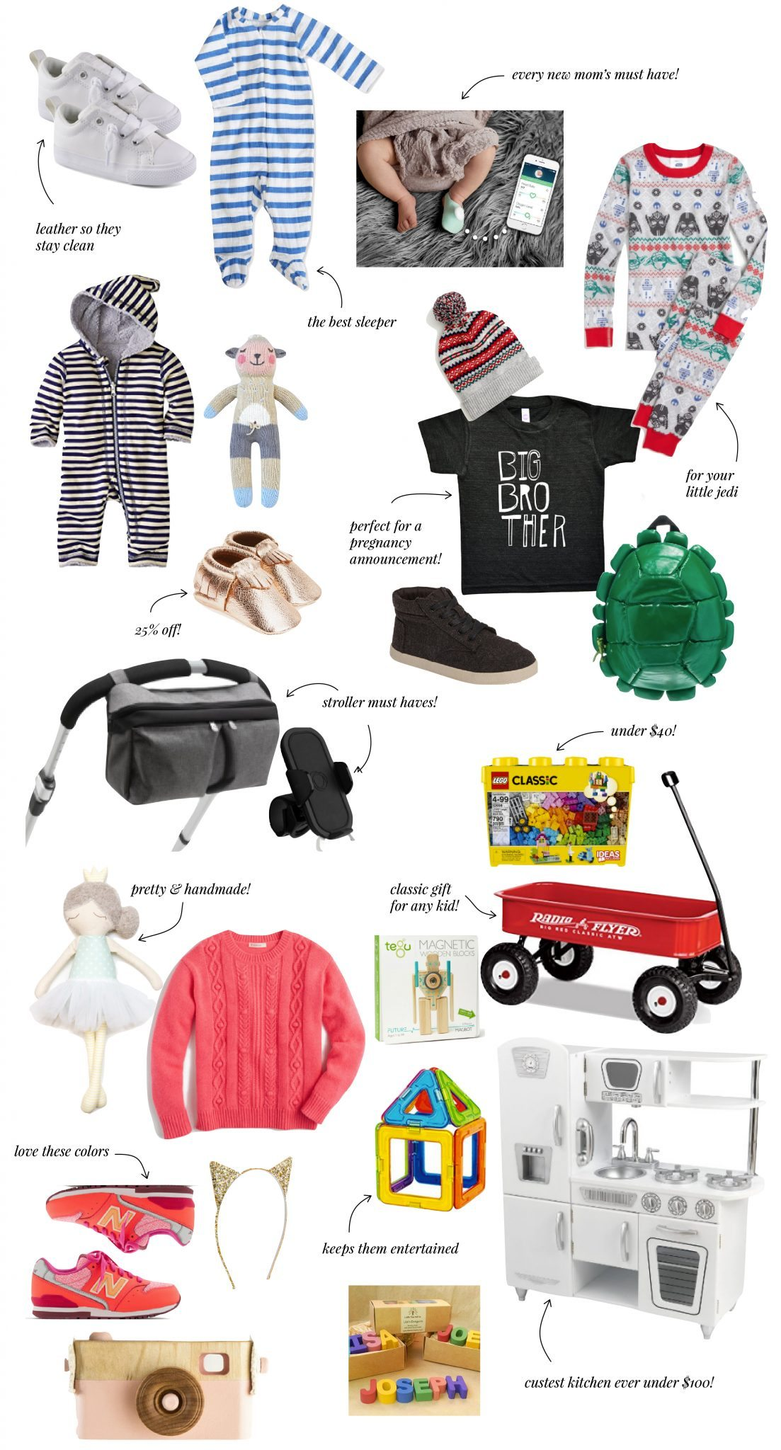 ELLE APPAREL HOLIDAY GIFT GUIDE 2016: BABY & KIDS