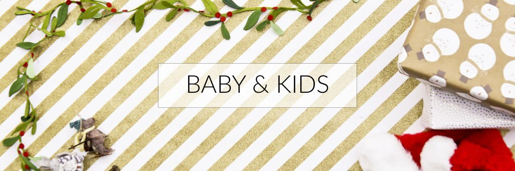The Best Holiday Gift Guide: For Baby & Kids (Elle Apparel 2016)