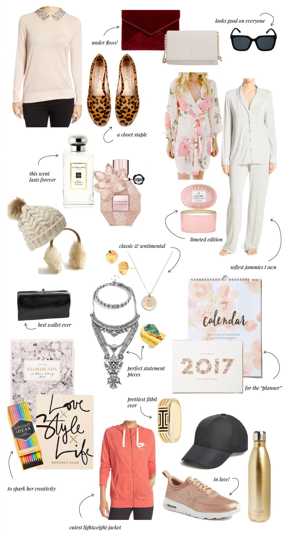 ELLE APPAREL HOLIDAY GIFT GUIDE 2016: FOR HER