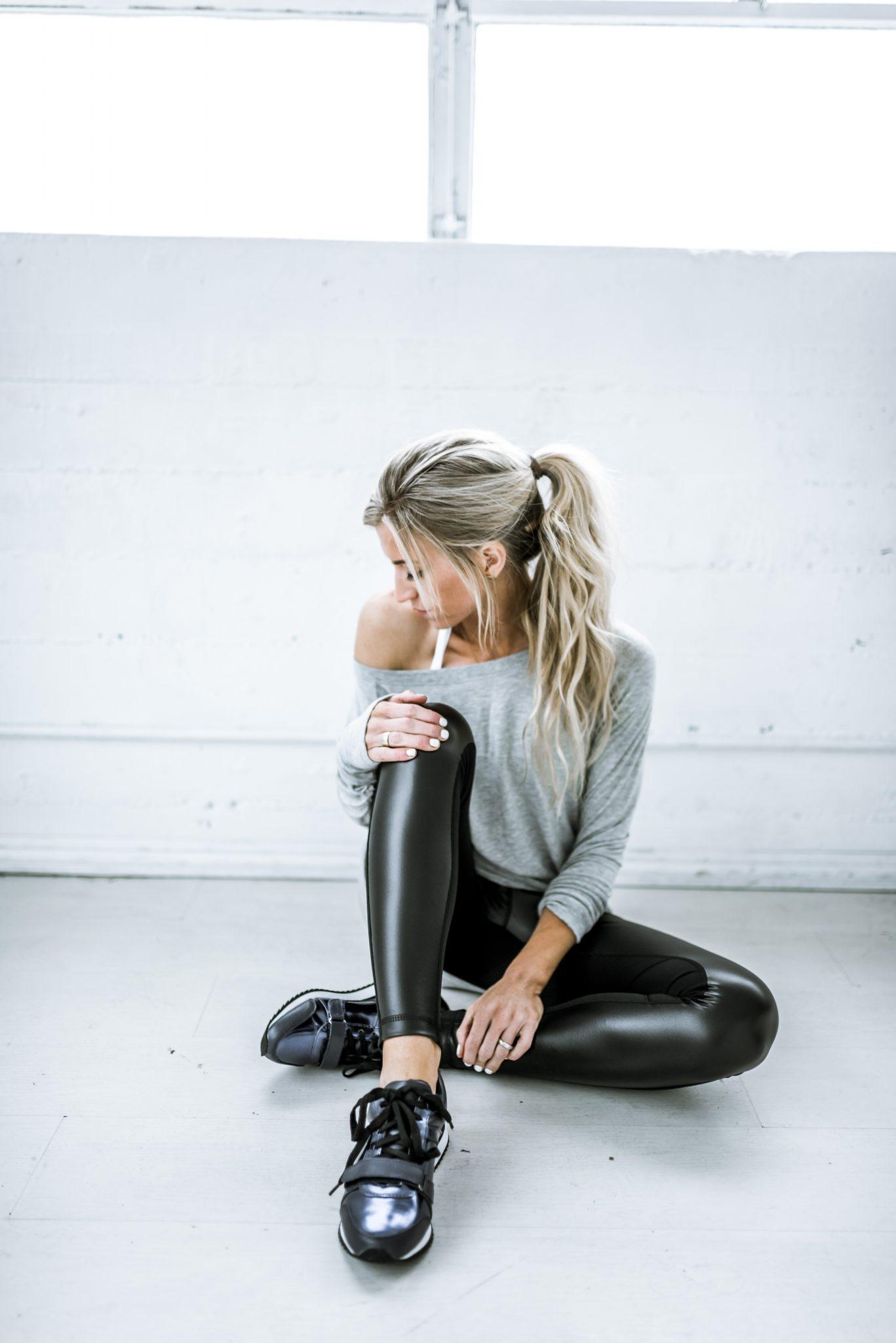 At home leg kick workout routine