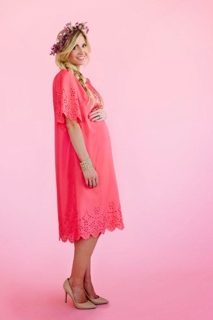Top 6 Valentine's Day Tutorials: Laser Cut Flutter Sleeve Dress Tutorial