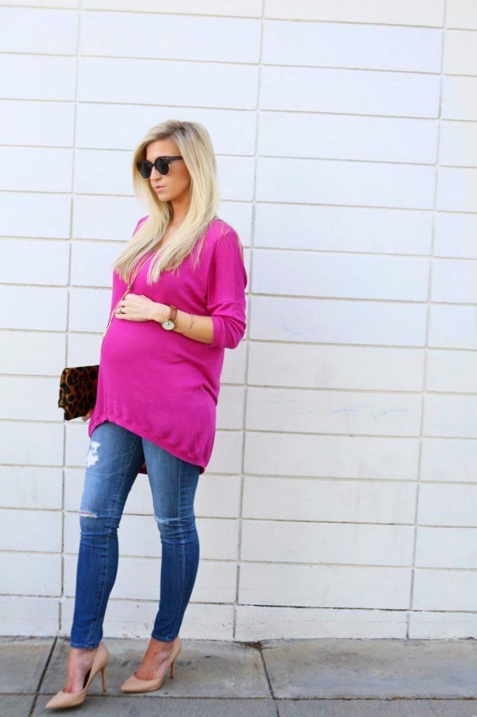 Top 6 Valentine's Day Tutorials: Oversized High Low Sweater Tutorial