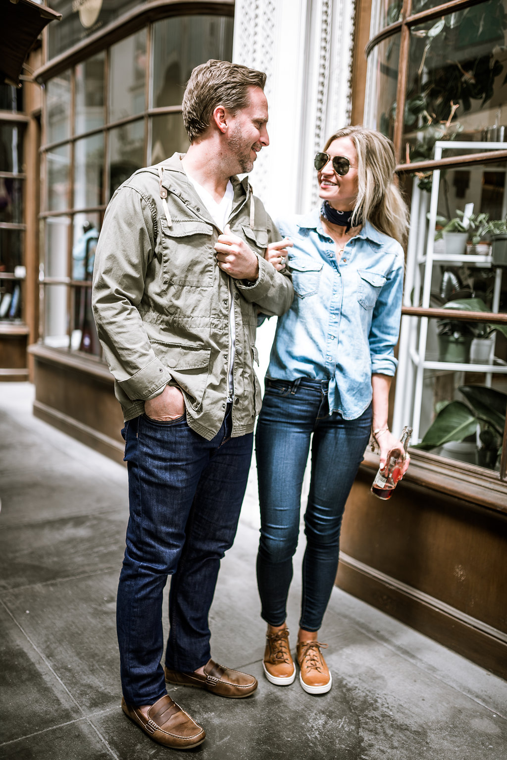 His + Hers denim style