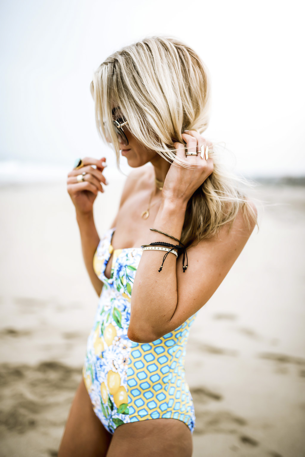 Lemon bathing suit
