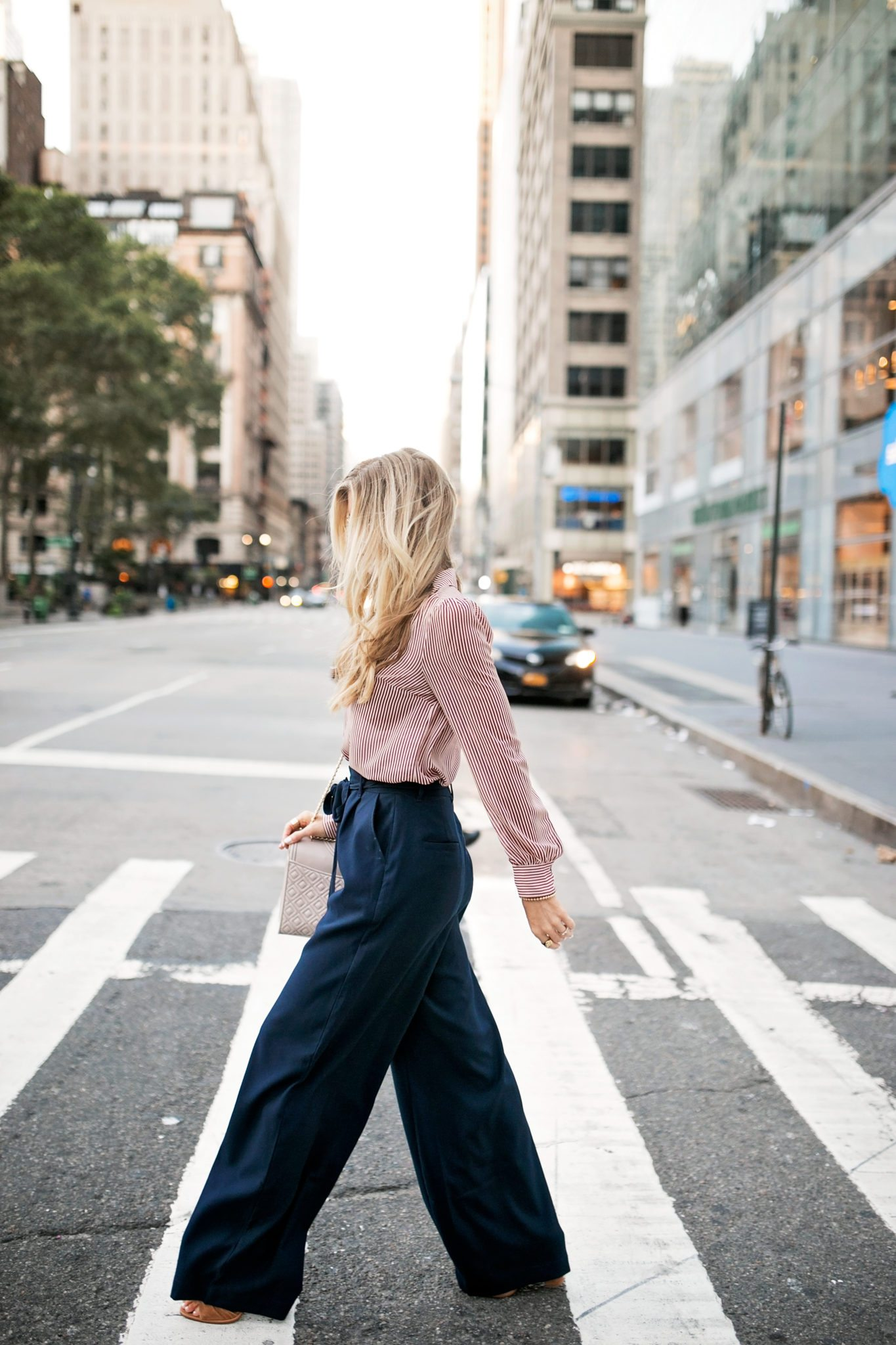 NYFW LOOK 2: THE TROUSER TREND