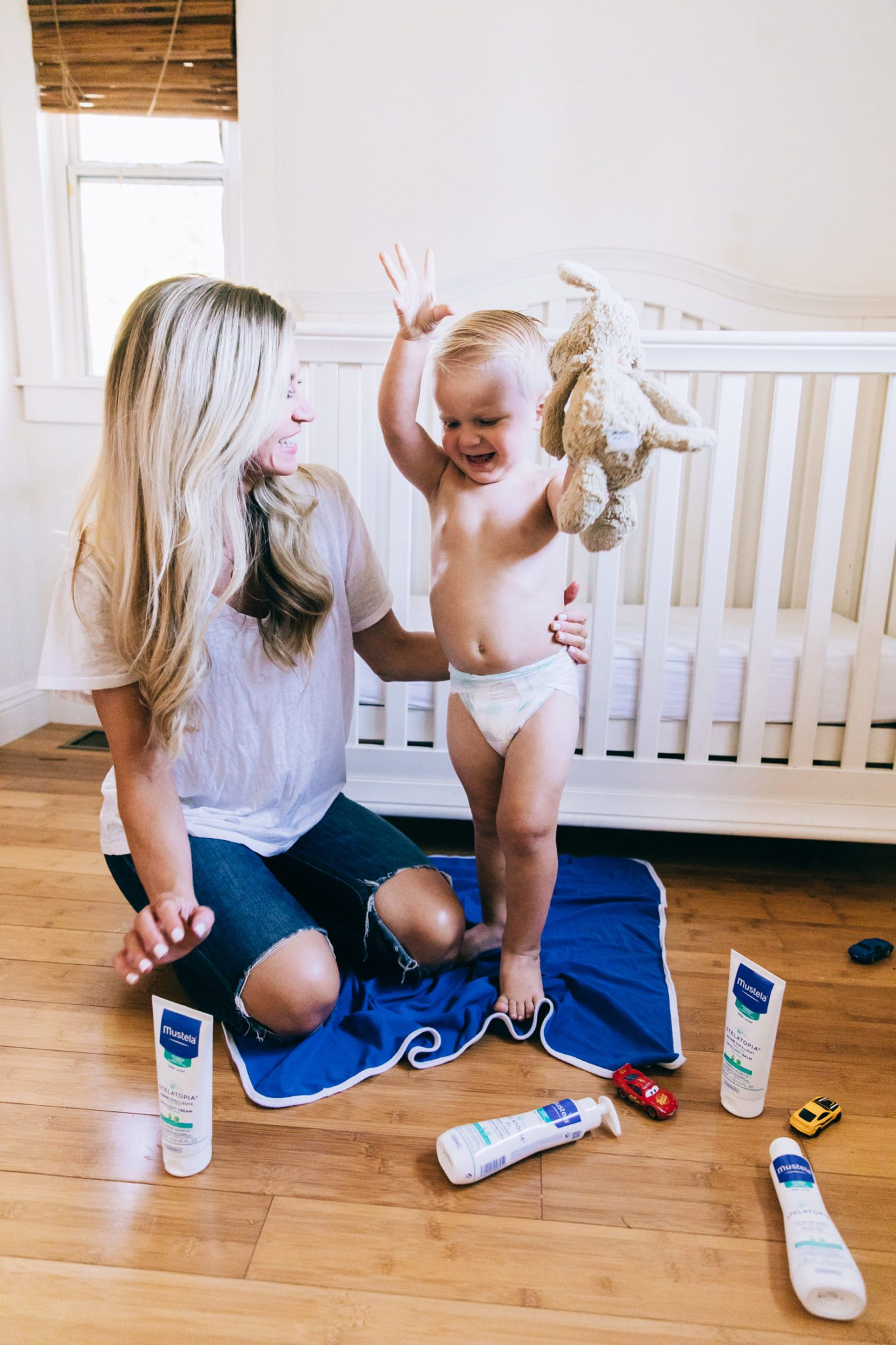 My favorite baby lotion for treating eczema-prone skin