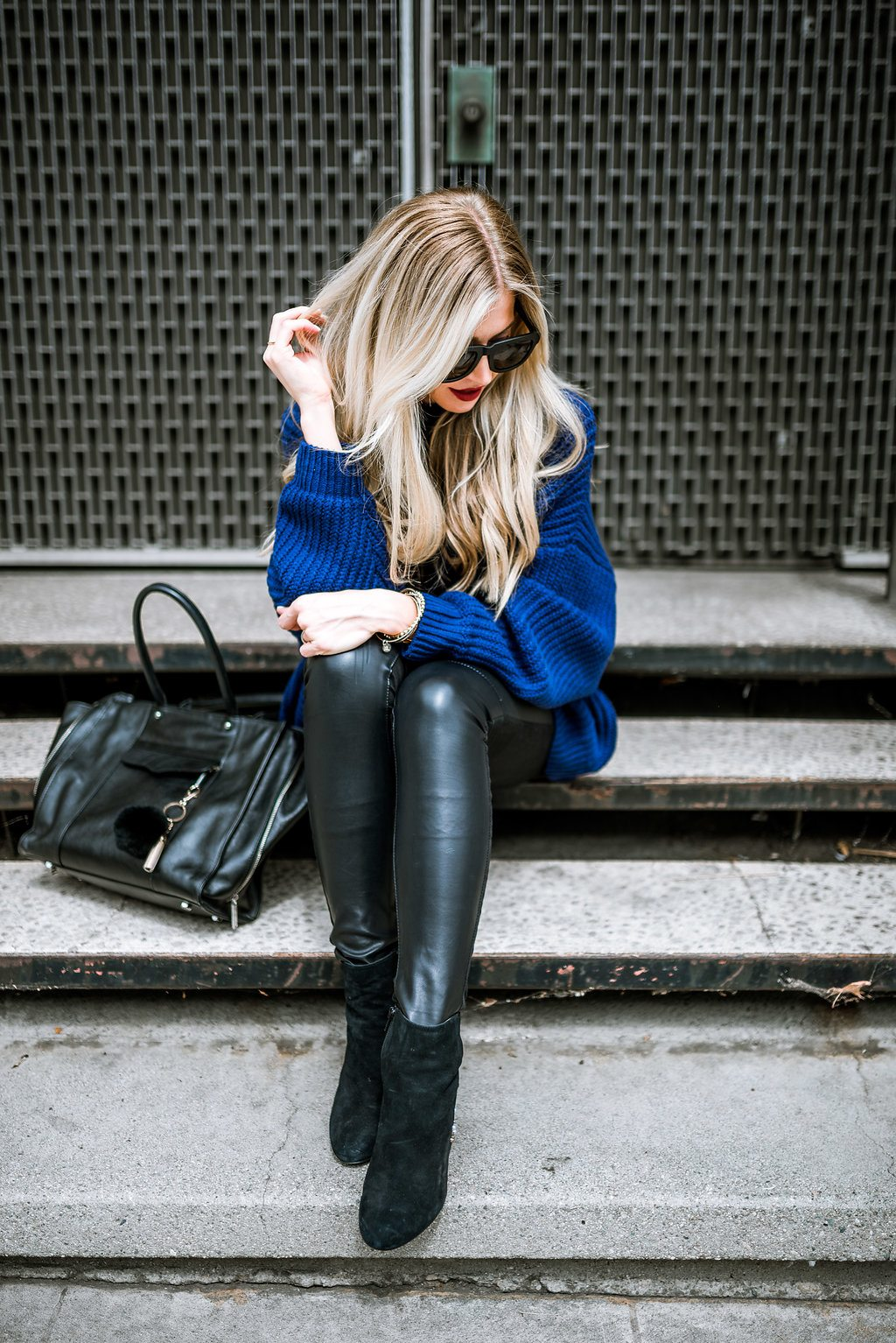 ROYAL BLUE SWEATER FOR FALL