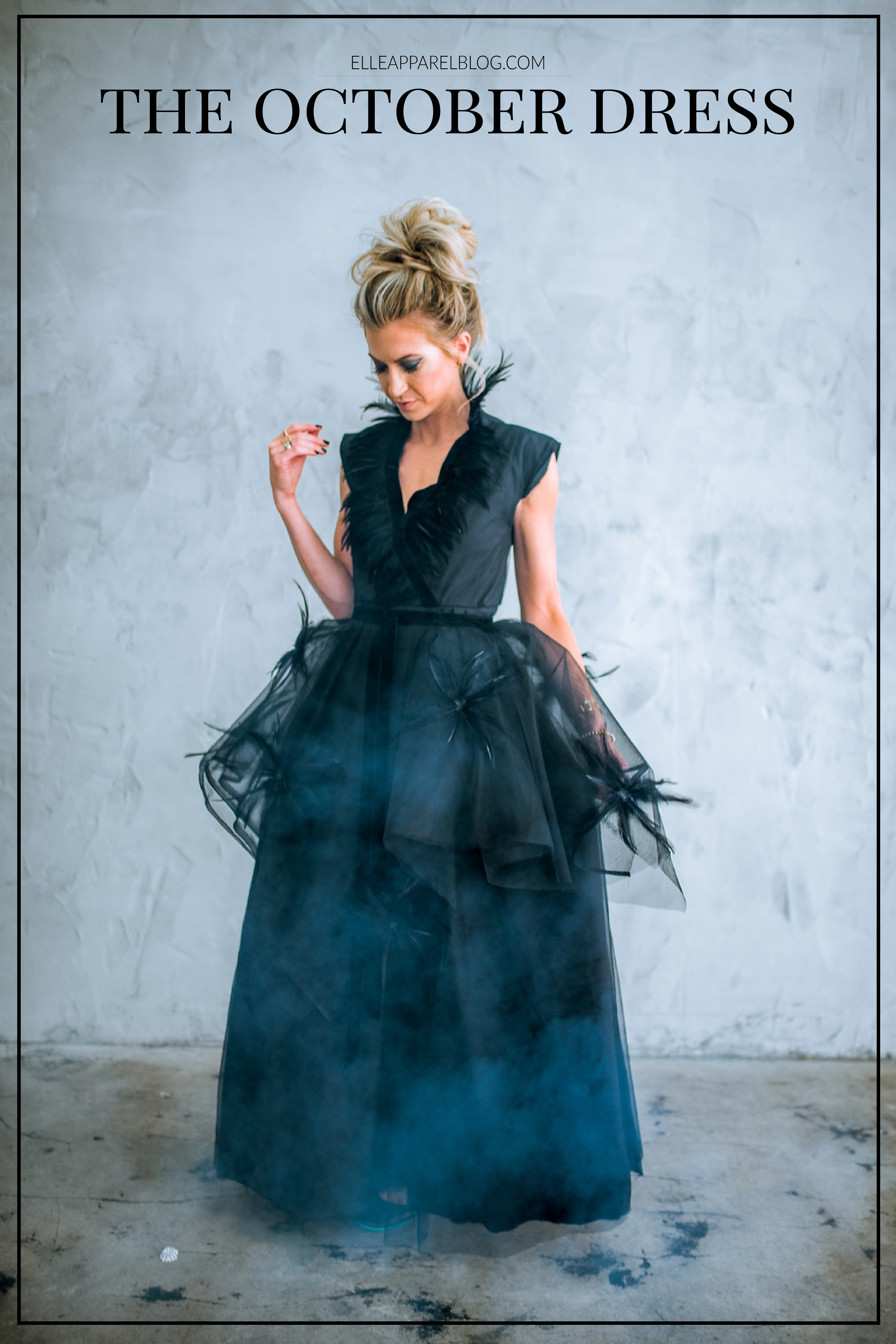 0f1808e6 MONTHLY DRESS SERIES: THE OCTOBER DRESS - Elle Apparel by Leanne Barlow