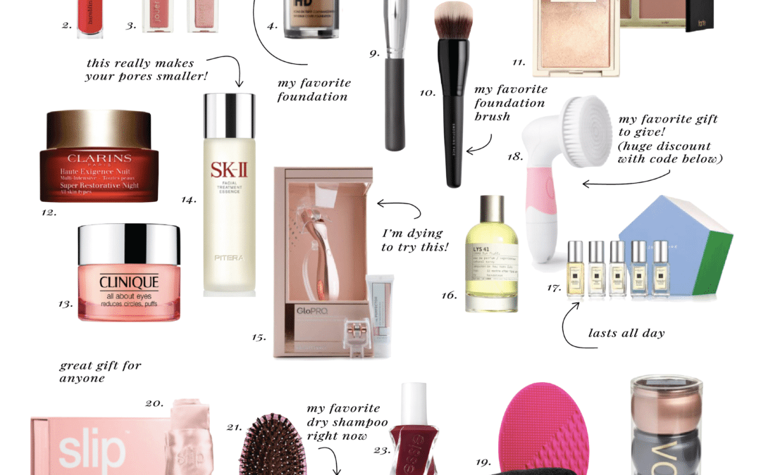 ELLE APPAREL HOLIDAY GIFT GUIDE 2017: BEAUTY
