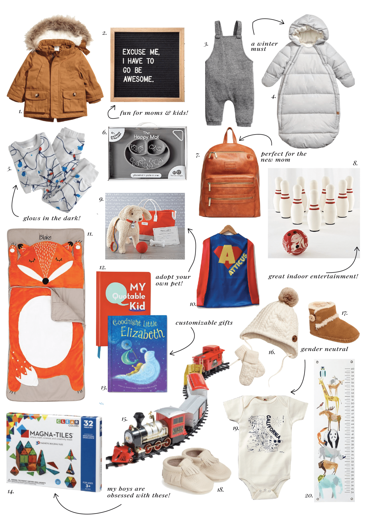 ELLE APPAREL HOLIDAY GIFT GUIDE 2017: KIDS & BABY