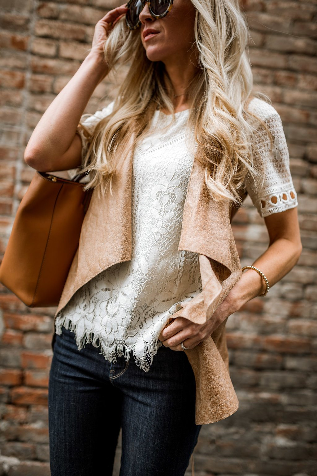 Lace Leather Elle Apparel By Leanne Barlow