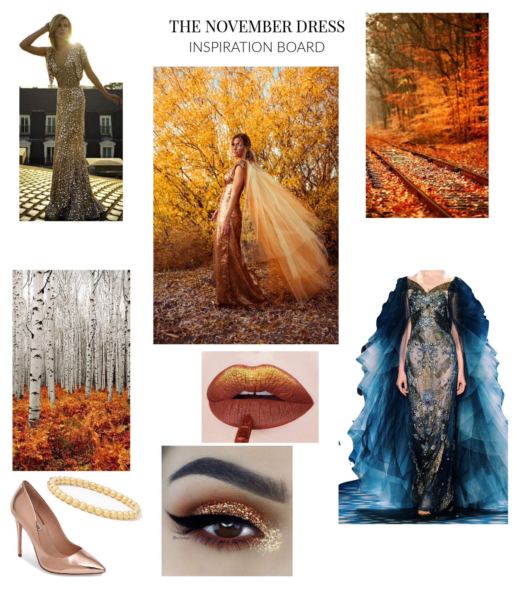 November Dress Inspiration Board