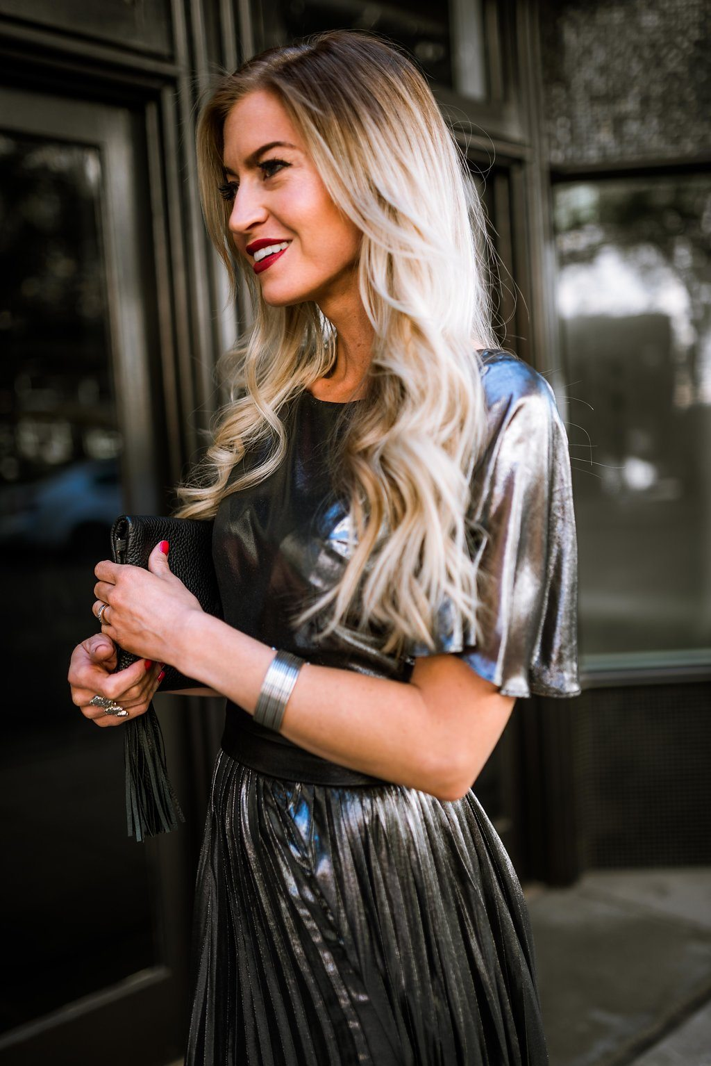 Silver New Years Eve Dress