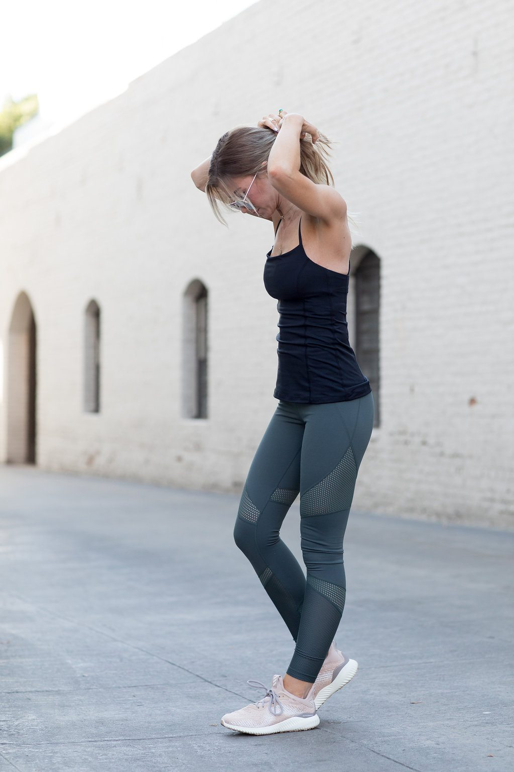 Olive green amazing leggings for running