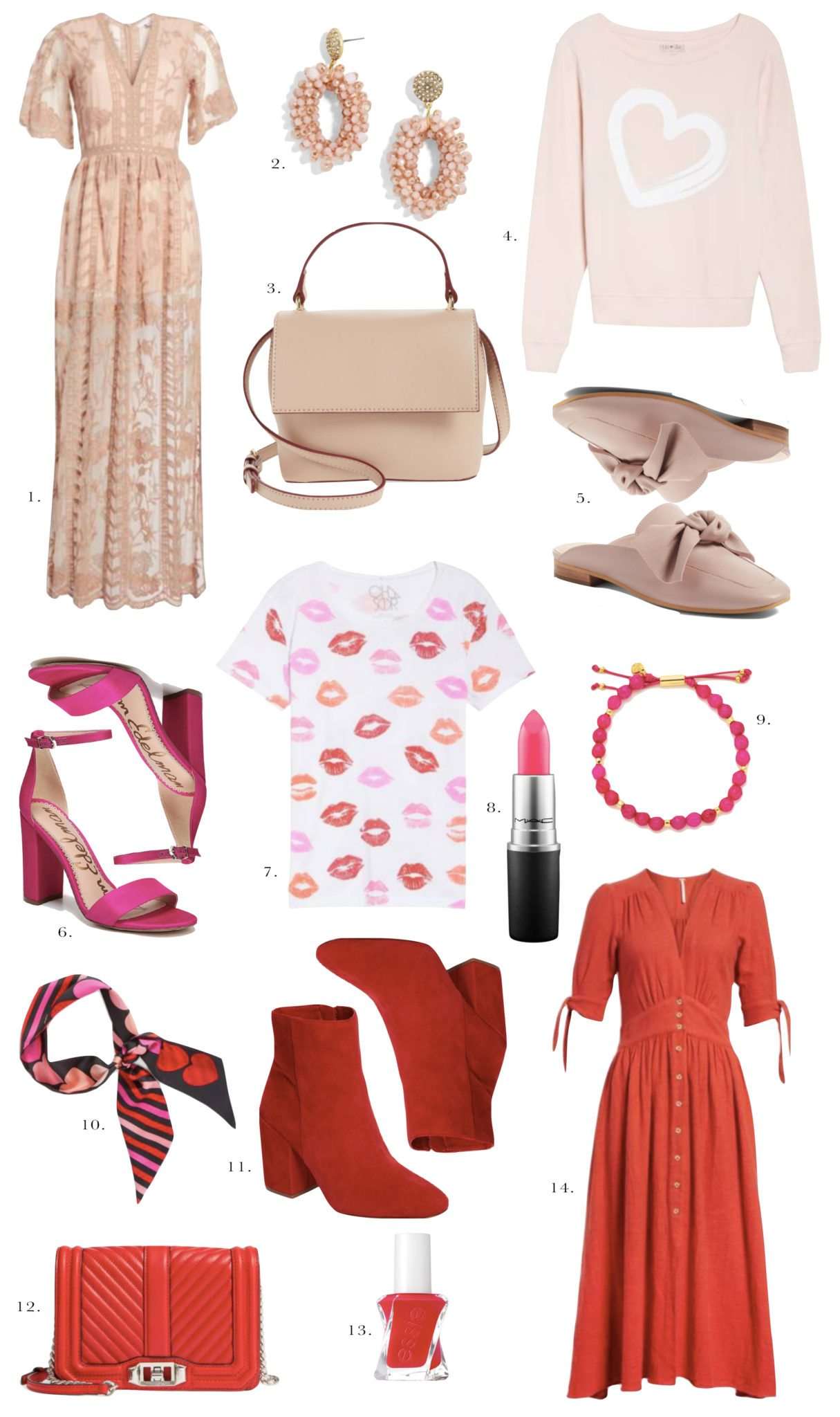 IN THE MOOD FOR PINK AND RED