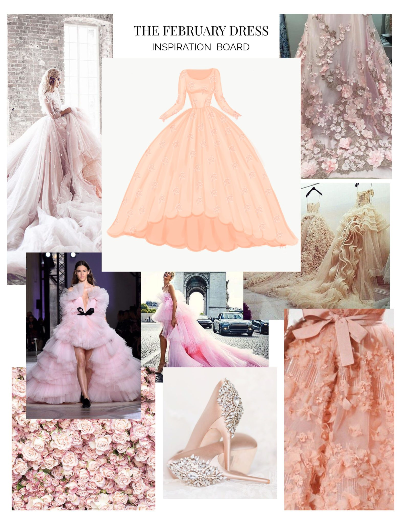 The February Dress Inspiration Board