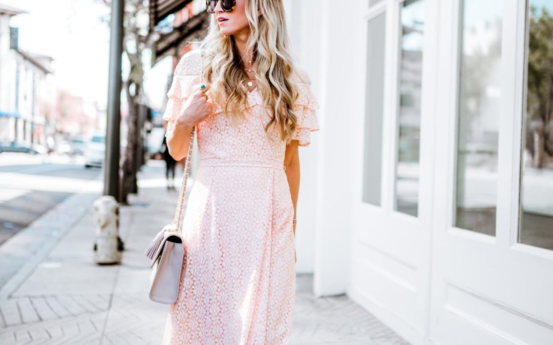 MY FAVORITE LACE PASTEL DRESSES FOR EASTER