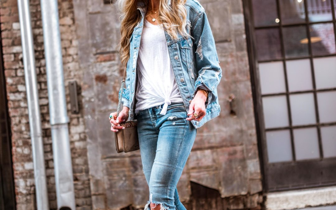 THE DISTRESSED TREND FOR SPRING