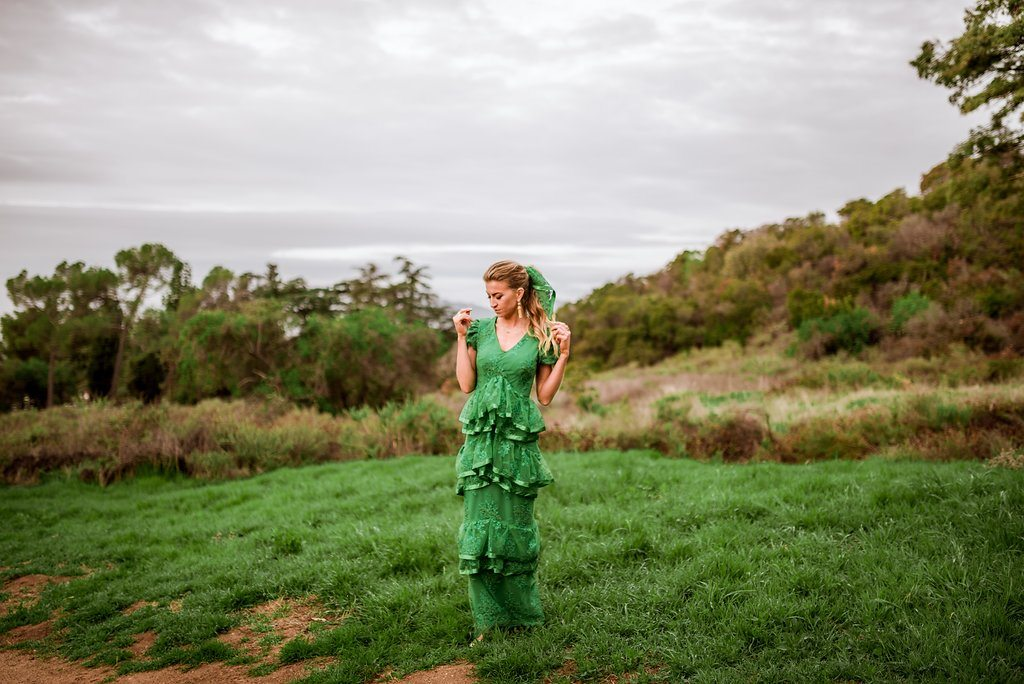 The March Dress, part of The Monthly Dress Series by Leanne Barlow