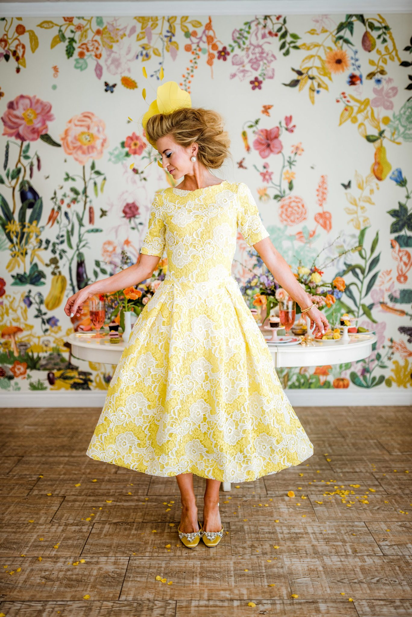 The April Dress, part of The Monthly Dress Series by Leanne Barlow