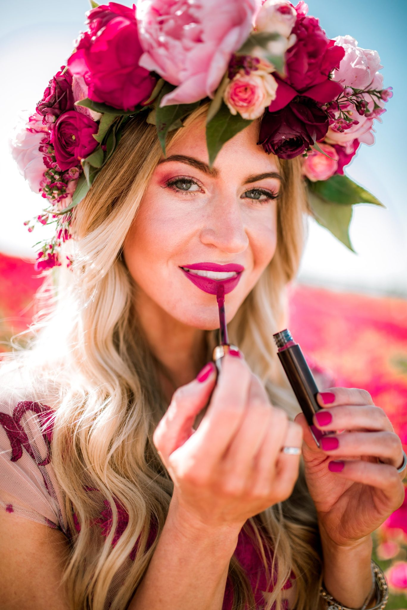 The best orchid makeup shades for spring.