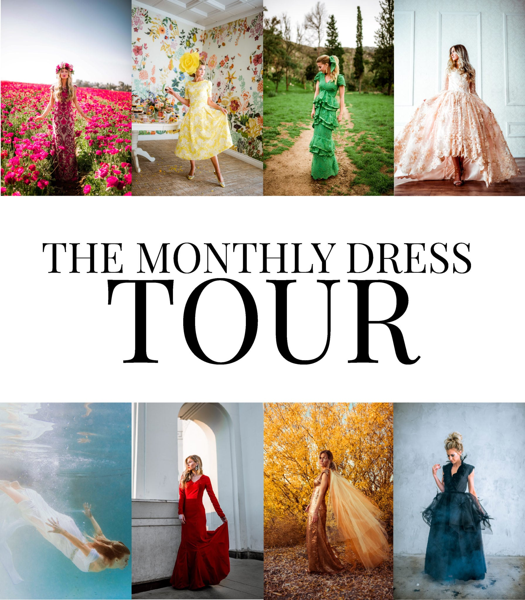 The Monthly Dress Tour by Leanne Barlow
