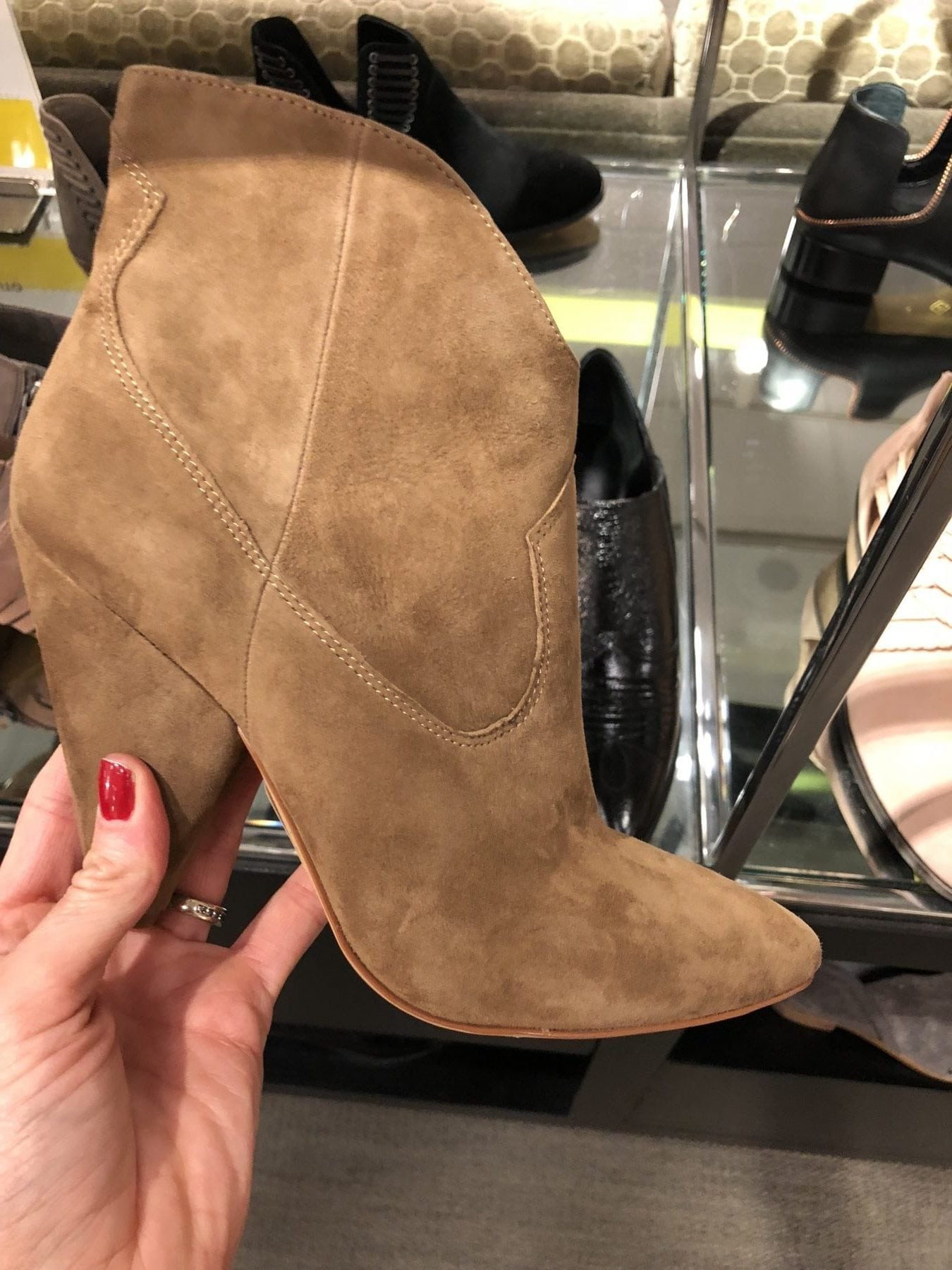 Nordstrom Anniversary Sale Outfits Brown Ankle Boots
