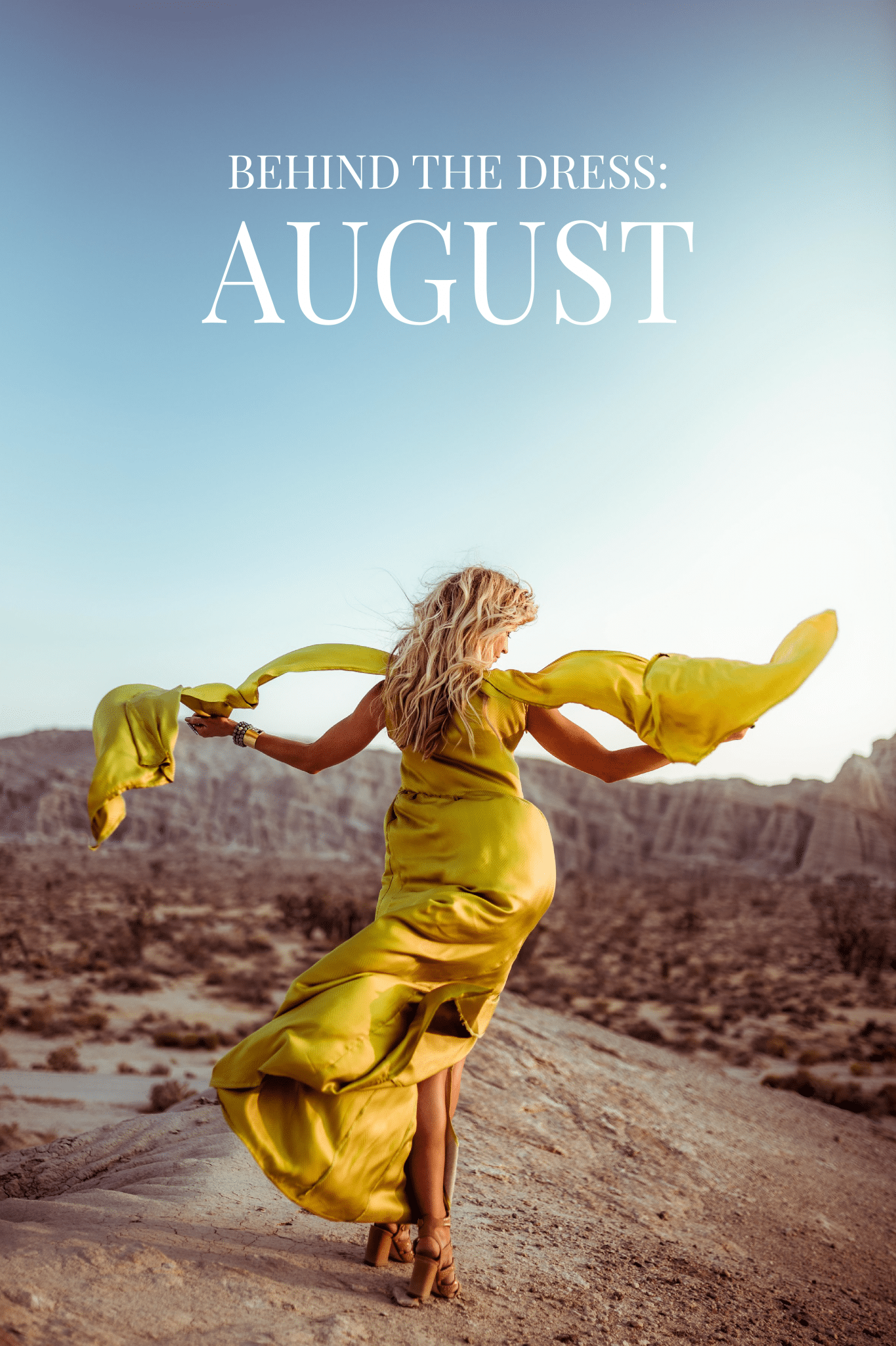 Behind The Dress: August  | Elle Apparel Blog
