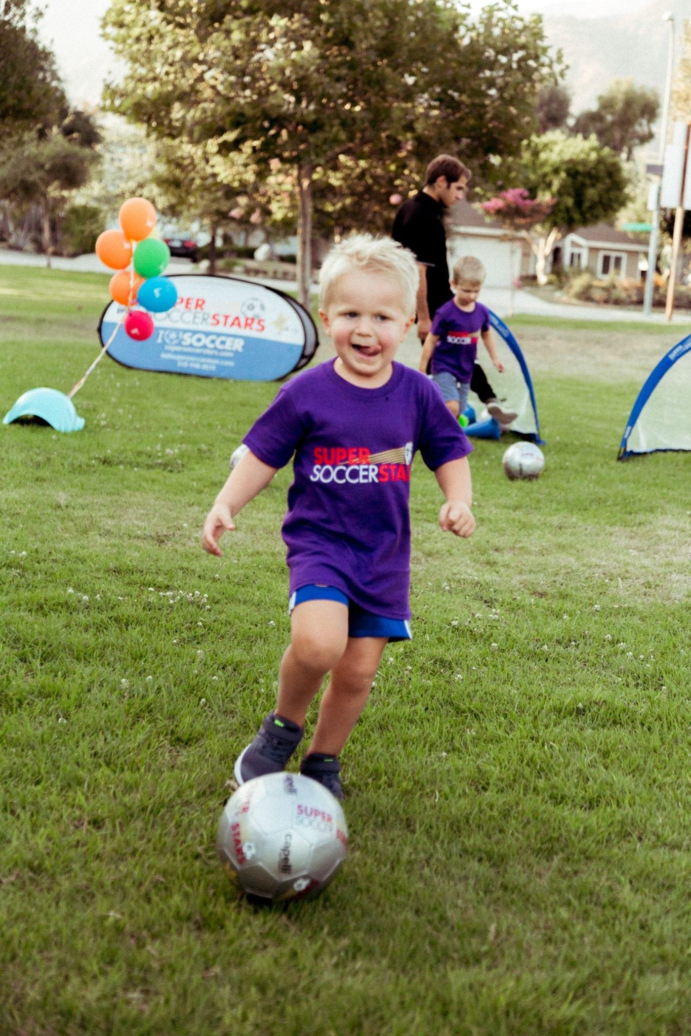 Eli 3rd Birthday Soccer Party